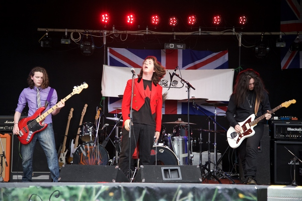 Okehampton Party in the Park 2015 - The Morales